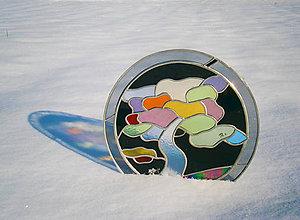 Dekorácie - Klasická vitráž do olova - 9152387_