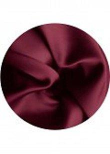 Textil - satén  (Bordová) - 9151731_