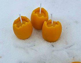 Svietidlá a sviečky - Včelí žloutek:-) - 9151111_