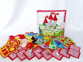 Hračky - Quiet book - textilná knižka - 1 pre dievčatá - 9151041_
