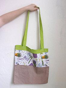 Nákupné tašky - Levanduľová - 9151998_
