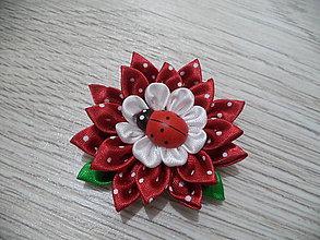 Detské doplnky - kvet na kočík - 9153436_