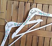 Dekorácie - Svadobné vešiaky - 9152142_