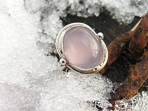 Prstene - Strieborny prsteň Ag925 Ruženín - 9152037_
