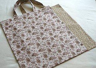 Nákupné tašky - EKO nákupka č.10   krátke uši - 9150594_