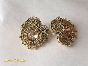 Náušnice - Gréta silver (Zlatá) - 9152070_