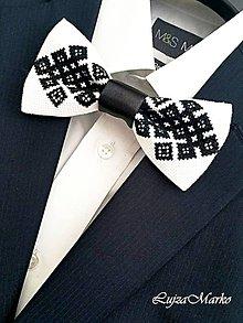 Doplnky - Chanel na ľudovo motýlik  (Čierna) - 9152263_