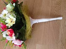 Dekorácie - Kytica svadobná-gratulacna-zlava - 9151199_