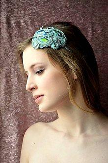 Ozdoby do vlasov - The Wind Wings - sujtašová čelenka - 9157564_