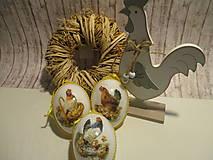 Dekorácie - Veľkonočné vajíčka - 9156697_