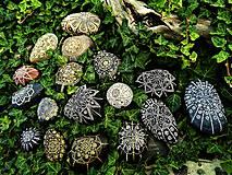 """Dekorácie - MANDALA """"Mandalka pre šťastie""""- energetizačný dekoračný kamenček - 9154019_"""