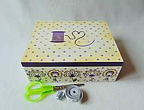 Krabičky - Krabička- organizér Pre šikovnú žienku - 9154786_