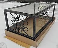 Nábytok - Konferenčný stolík so sklom - 9157845_