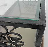 Nábytok - Konferenčný stolík so sklom - 9157856_