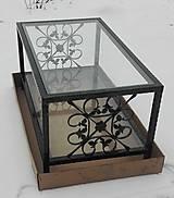 Nábytok - Konferenčný stolík so sklom - 9157867_