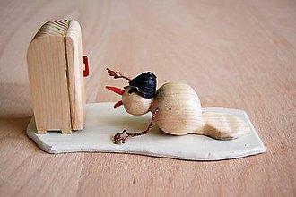 Dekorácie - Dekorácia z dreva - Pomóóóc, roztápam sa...:-) - 9157093_