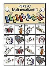 Hudobné nástroje - Pexeso Malí muzikanti 1 - 9157277_