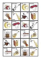 Hudobné nástroje - Pexeso Malí muzikanti 1 - 9157372_