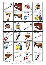 Hudobné nástroje - Pexeso Malí muzikanti 1 - 9157377_
