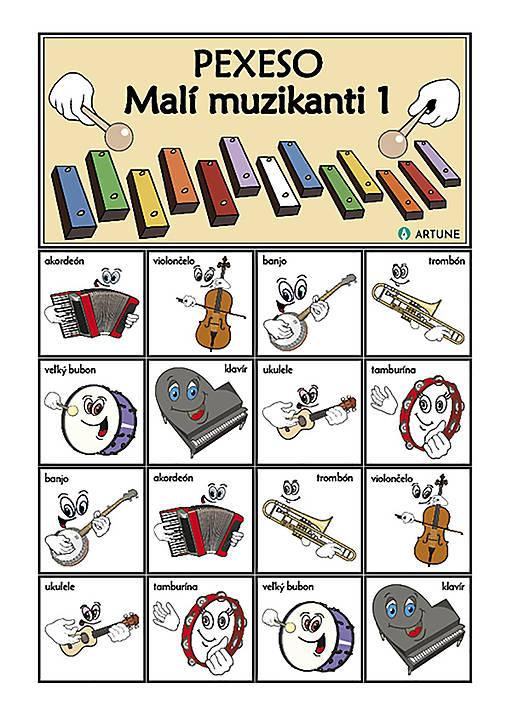 Pexeso Malí muzikanti 1