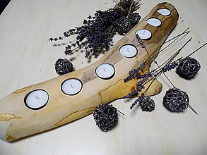 Svietidlá a sviečky - Polienko - 9155170_