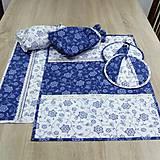 Úžitkový textil - Modro biela tradícia - utierky 40x60 - 9158060_