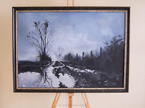 Maľba po daždi-originál