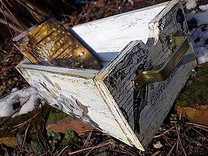 Krabičky - Vintage krabica na poštu - 9154636_