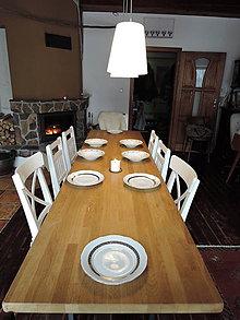 Nábytok - dubový jedálensky stôl - 9154609_