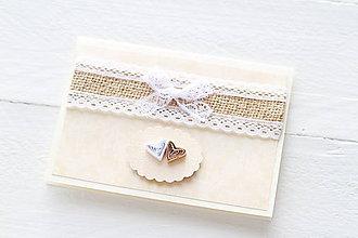 Papiernictvo - svadobná pohľadnica - 9158088_
