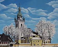 Obrazy - Obraz - Kostolík, Trstená - 9158983_
