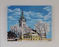 Obrazy - Obraz - Kostolík, Trstená - 9158984_