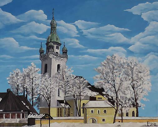 Obraz - Kostolík, Trstená