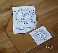Papiernictvo - Svadobné oznámenie 33 - 9162041_