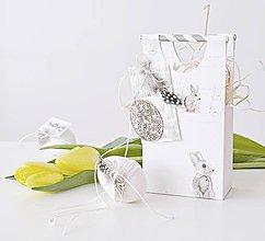 Dekorácie - Papierová taštička pre kupačov II - 9159138_