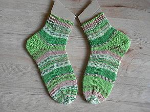 Obuv - Ponožky crazy - 9158655_