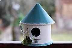 Dekorácie - Domček pre vtáčiky - 9158738_