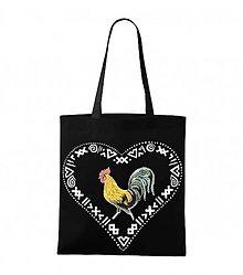 Nákupné tašky - nákupná taška Kohútik - 9158764_