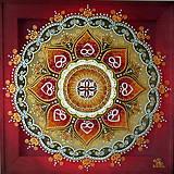 Mandala...Plameň lásky