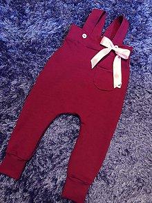 Detské oblečenie - Gačky na tračky - 9158649_