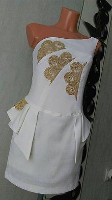Šaty - Východ slnka-spoločenské šaty - 9158705_
