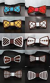 Doplnky - 2ks drevených motýlikov za výhodnú cenu - 9161581_
