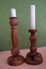 Svietidlá a sviečky - sada 2 svietnikov - 9159249_