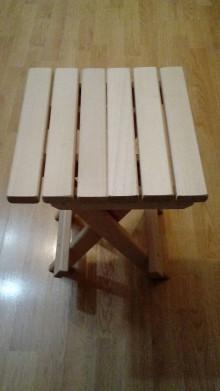 Nábytok - Skladací stolček - 9159037_
