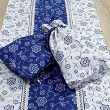 Úžitkový textil - Modro biela tradícia - vrecúška na bylinky 18x26 - 9158489_