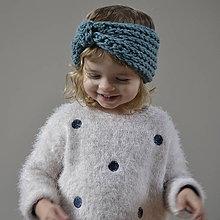 Detské čiapky - čelenka...morská - 9162748_