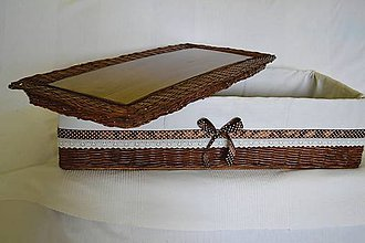Košíky - Box s poklopom CHANELLINA - 9158610_