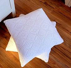 Úžitkový textil - Sneho biela elegancia & folk 2 - 9161871_