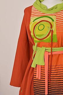 Šaty - ZARA - originálne šaty z bavlneného úpletu. - 9165423_