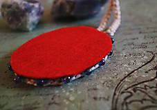 Náhrdelníky - Frida/ cirkusmedailonik - 9163883_